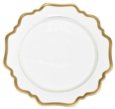 Anna Weatherley Antique White with Gold Bread & Butter Plate