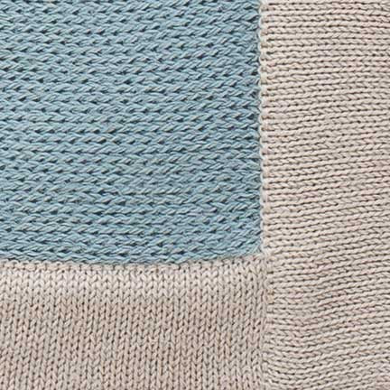 Alicia Adams Baby Blanket, blue