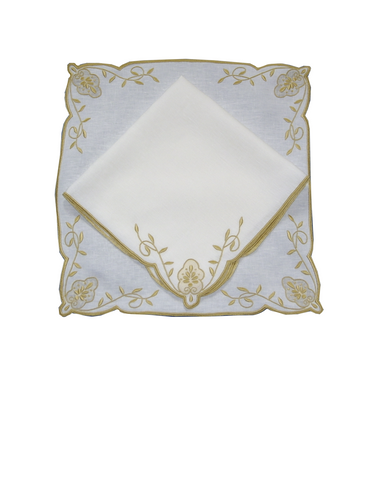 Acanthus Placemat and Napkin