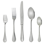 Albi Stainless Steel Five-Piece Place Setting