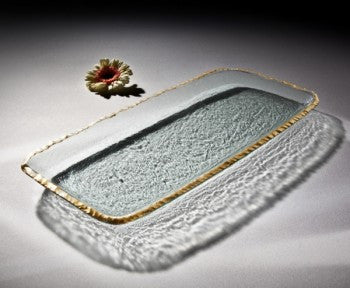 Annie Glass Rectangular Party Tray