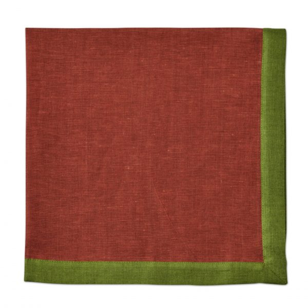 Autumn Border Napkin Copper