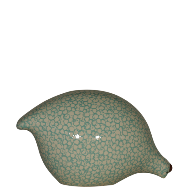 Quail- White Speckled Turquoise