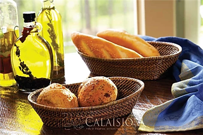 Bread Basket with Tubes