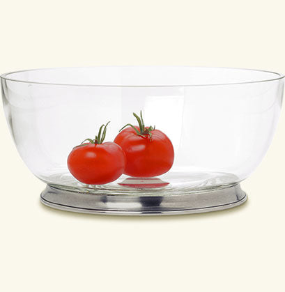 Match Round Crystal Bowl, Extra Large
