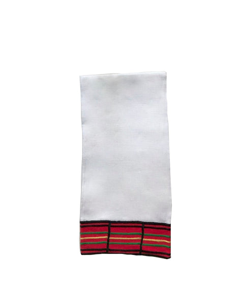 Holiday Plaid Guest Towel