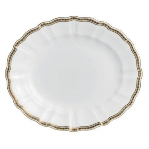 Royal Crown Derby Carlton Gold Medium Platter