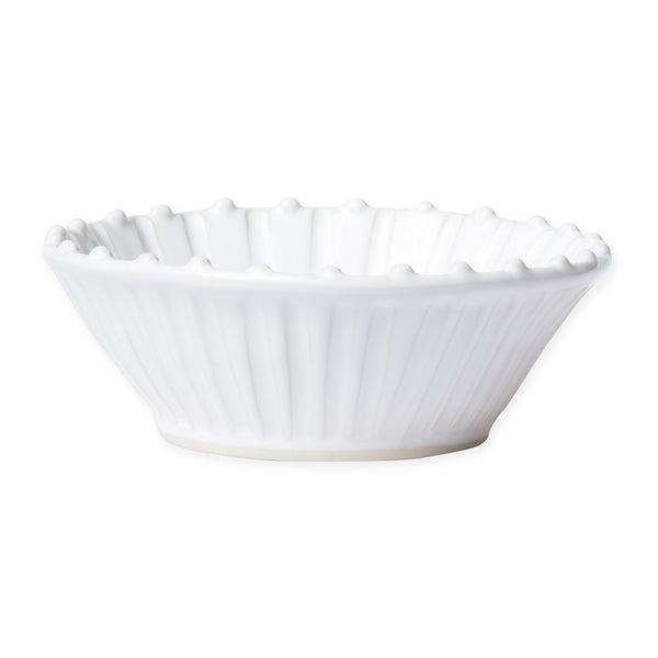 Vietri Incanto White Stripe Cereal Bowl