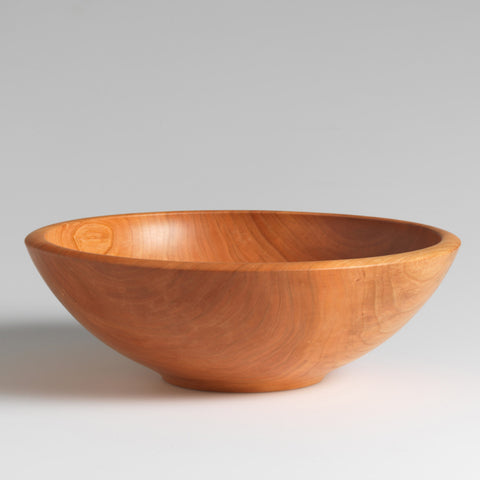 HAND TURNED WOODEN BOWL - CHAMPLAIN COLLECTION