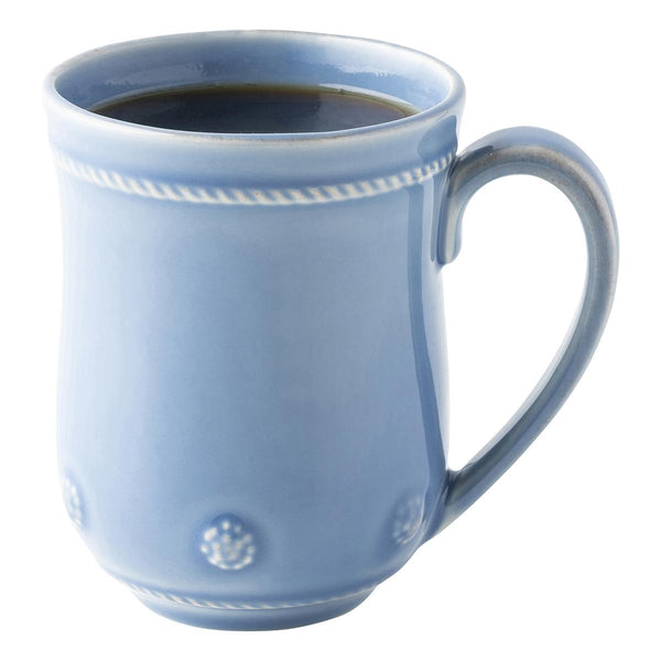 Chambray Berry and Thread Mug