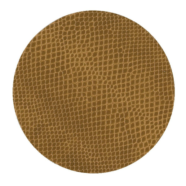 Caspari  Snakeskin Felt-Backed Coasters
