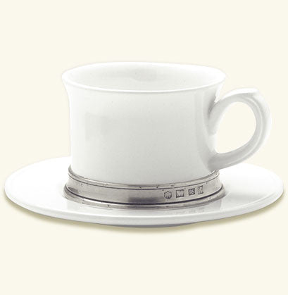 Convivio Cappuccino/Tea Cup with Saucer