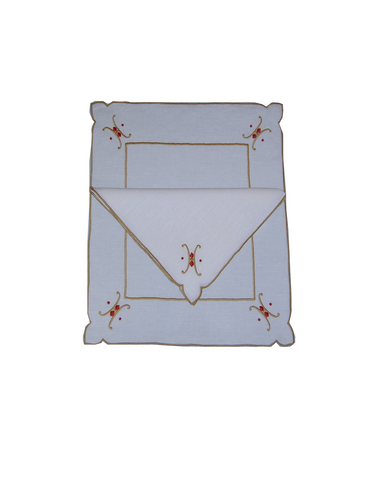 Diamonds and Dots Placemat and Napkin