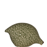 Quail- White Speckled Frog Green