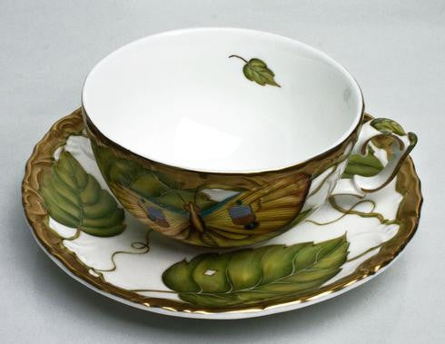 Anna Weatherley Exotic Butterfly Tea Cup & Saucer
