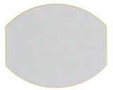 Dot Fan Ellipse Placemats
