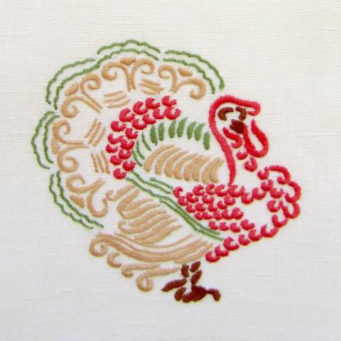 Elegant Turkey Guest Towel