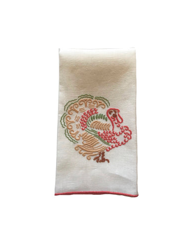 Elegant Turkey Fingertip Towel