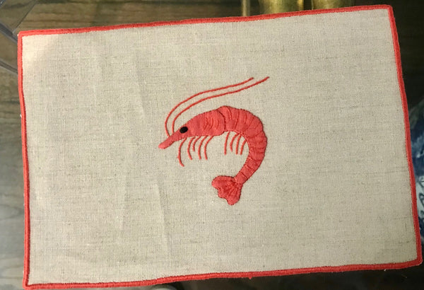 Shrimp Cocktail Napkin