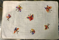 Multi Colored Butterfly Cocktail Napkin