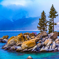 Zen Large Puzzle - Lake Tahoe Winter