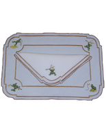 Leaping Frogs Napkin and Placemat
