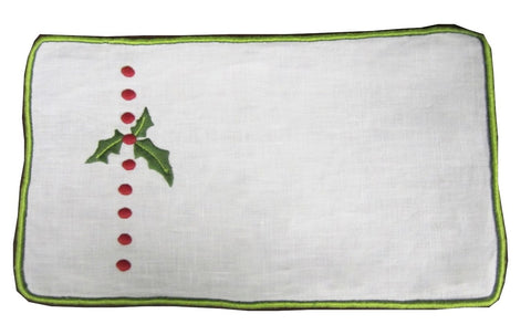 Holly Cocktail Napkin