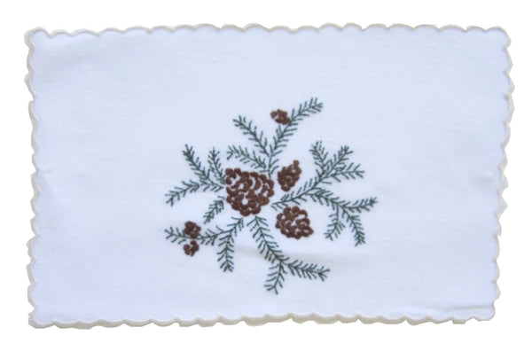Pinecone Cocktail Napkin