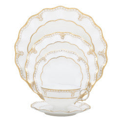 Royal Crown Derby Elizabeth 5 Piece Place Setting