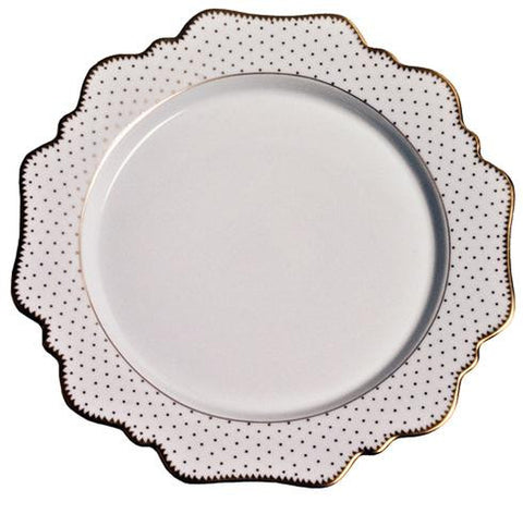 Anna Weatherley Simply Anna Antique Polka Bread and Butter Plate