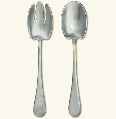 Match Pewter Aria Salad Serving Set
