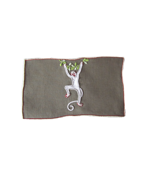 Simian Brown Cocktail Napkin