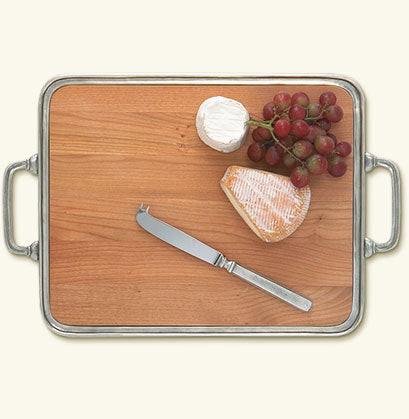 Match Cheese Tray with Handles