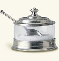 Match Pewter Jam Pot with Spoon