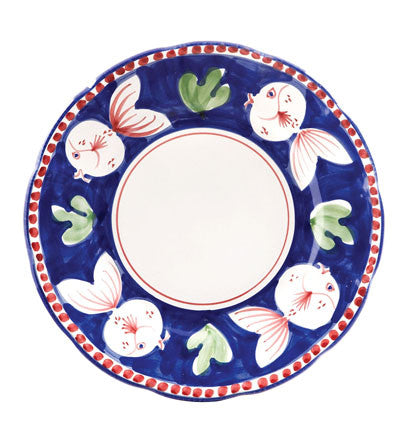 Vietri Campagne Dinner Plate, Fish