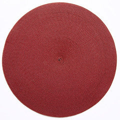 Deborah Rhodes Placemat in Brown/Red