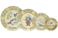 Mottahedeh CHING GARDEN 5PC PLACE SETTING
