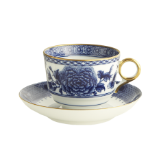 Imperial Blue Tea Cup and Saucer