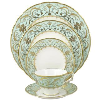 Royal Crown Derby Darley Abbey 5 Piece Place Setting