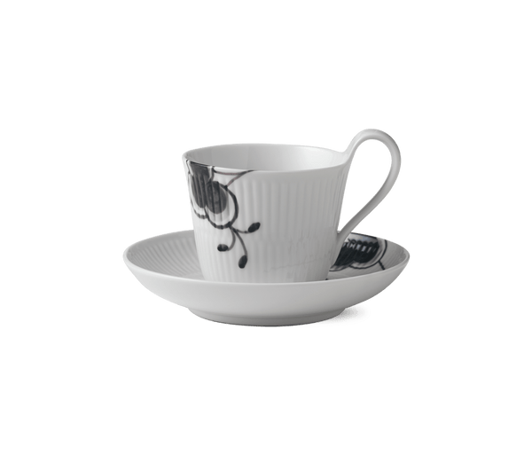 Royal Copenhagen Mega High Handle Cup and Saucer