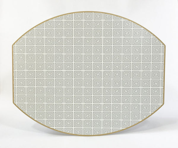 Holly's Key Ellipse Placemat