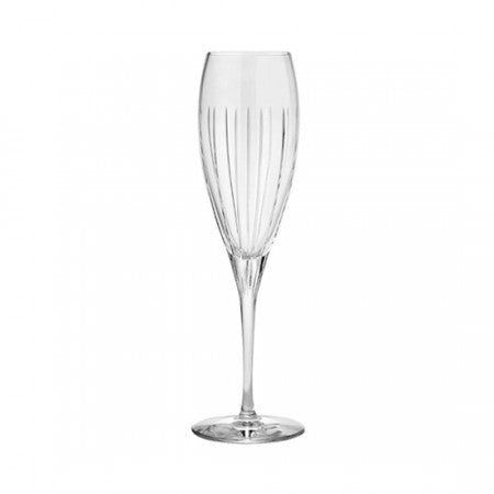 Christofle Iriana Crystal Champagne Flute