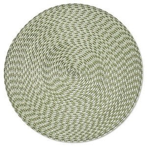 Deborah Rhodes Tweed Placemat Natural/Green