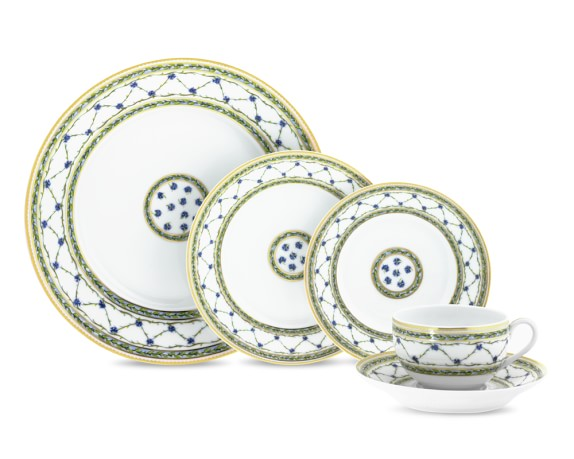 Raynaud Alle Royale 5 Piece Place Setting