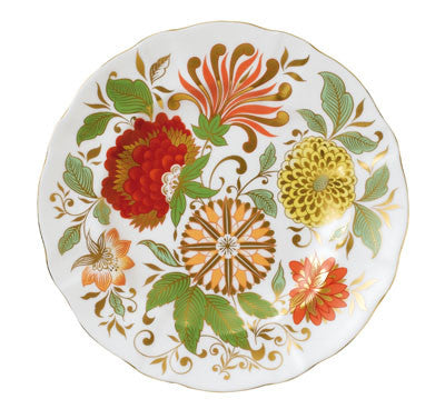Royal Crown Derby Indian Summer Salad Plate