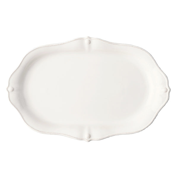 "Juliska Berry & Thread Whitewash 19"" Platter"