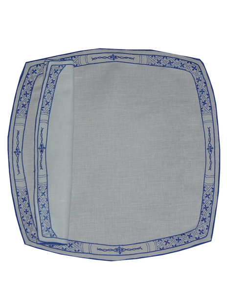 Lowestoft Placemat and Napkin