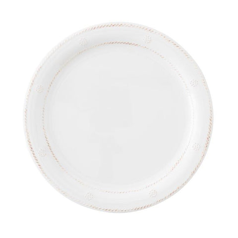 Al Fresco Berry & Thread Melamine Whitewash Dinner Plate
