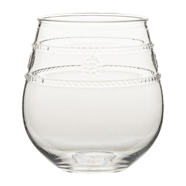 Isabella Acrylic Stemless Wine Glass