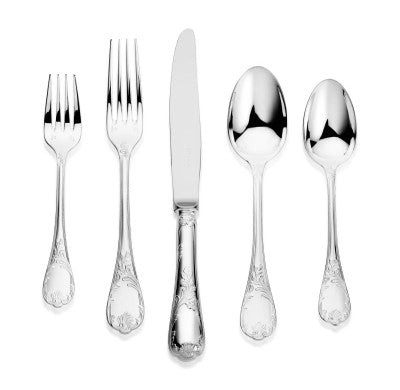 Christofle, Marly, Five Piece Dinner Setting